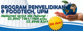 Program Penyelidikan @ FoodTech, UPM